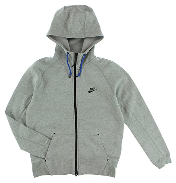 : Nike Men's Tech Fleece AW77 Hoodie Jacket, Dark