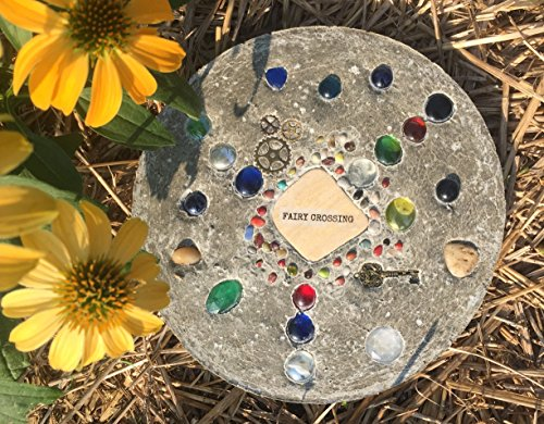 DIY FAIRY CROSSING Stepping Stone Kit (Crossing Stone)