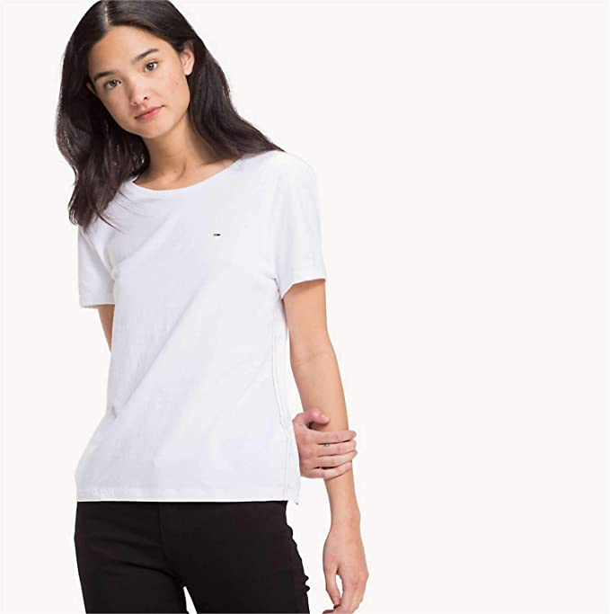 Tommy Jeans Soft Jersey Tee Maglietta Donna