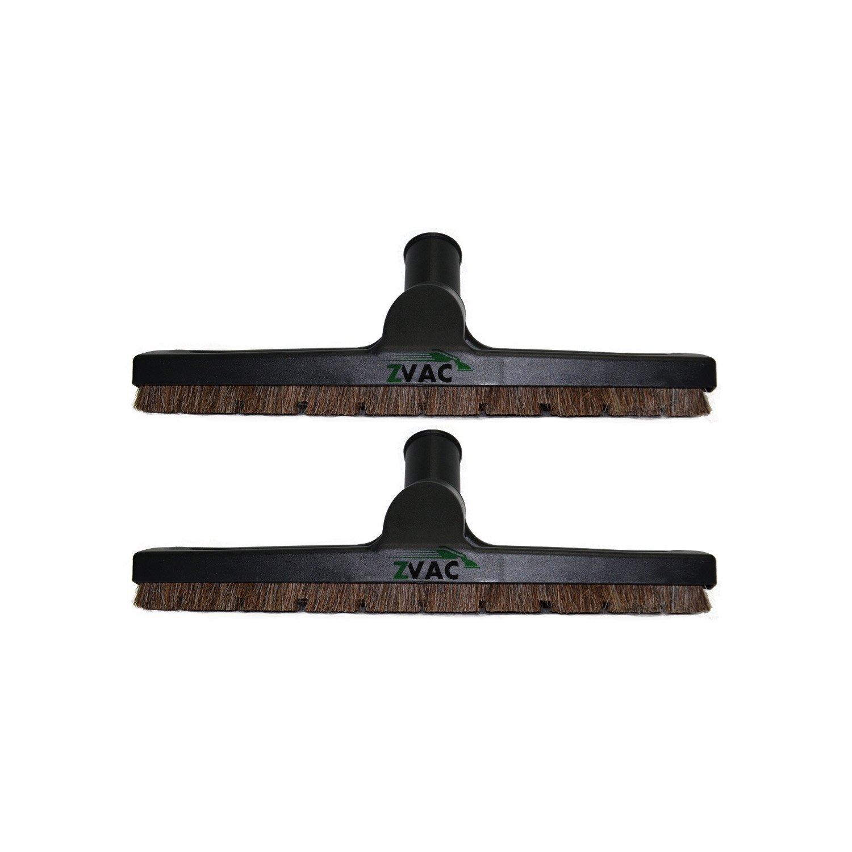 1 1/4インチ (32mm) デラックス床ブラシ ZVacのほぼ全ての掃除機用 1 & 1/4 inches ブラック ZVac32MMFloorBrush 2  B00NWYNO4K