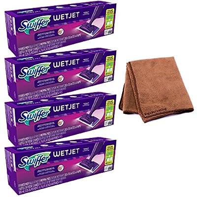 Swiffer WetJet Spray Mop Floor Cleaner Starter Kit (Packaging May Vary)