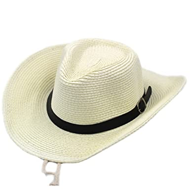 Hat Men and Women Summer Hats SPF Sun Hats Large Straw hat Outdoor ... 93f31321e04