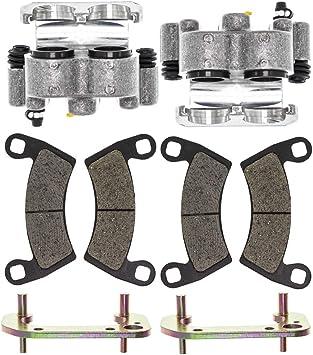 Front Left Right Brake Caliper Pad Set Pair 1995-1998 Polaris Magnum 425 1910079 1910074 1910073