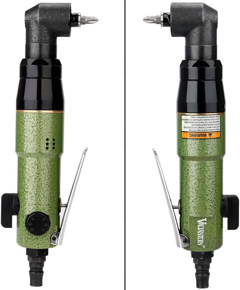 Yadianna Portable Practica Pneumatic Large Torque Pneumatic Screwdriver Industrial Grade Hand Tool Hand Tools Industrial
