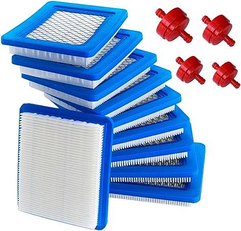 Amazon.com: HOODELL 491588S Filtro de aire + 394358 Filtro ...