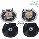 LONYE (Set of 2) 250W Base Gear & Blade Gear Replacement Part for Magic Bullet Blender