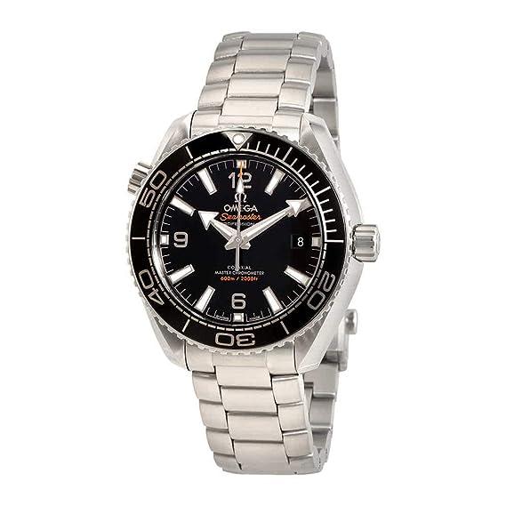 Omega Seamaster Planet Ocean 600 m automático negro Dial Mens Reloj 215.30.40.20.01.001: Amazon.es: Relojes