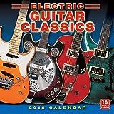 Electric Guitar Classics 2018 Wall Calendar (CA0130)