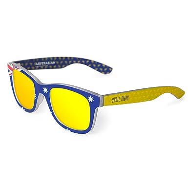 Skull Rider Herren Sonnenbrille gelb 9j6Vy0