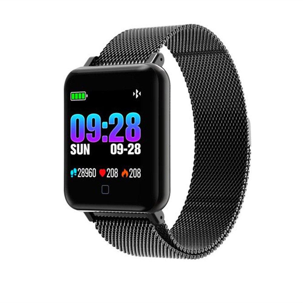 Amazon.com: Fitness Tracker,2018 Milan Strap And Silicone ...