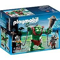 Playmobil 6004 - Potente Troll con Guardiani, Multicolore