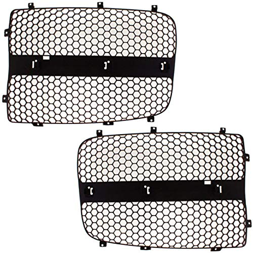 Koolzap For 04-05 Ram Pickup Truck Grill Grille Insert Filler Panel Left Right Side SET PAIR