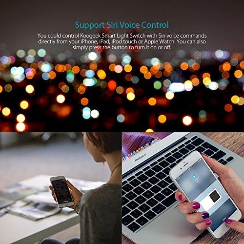 Koogeek Smart 2-Gang WiFi Light Switch by Koogeek (Image #2)
