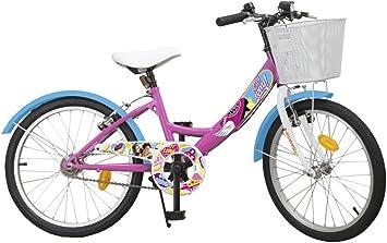 Toimsa Disney Princess - Bicicleta para niña, 6 a 9 años, 593, Rosa ...