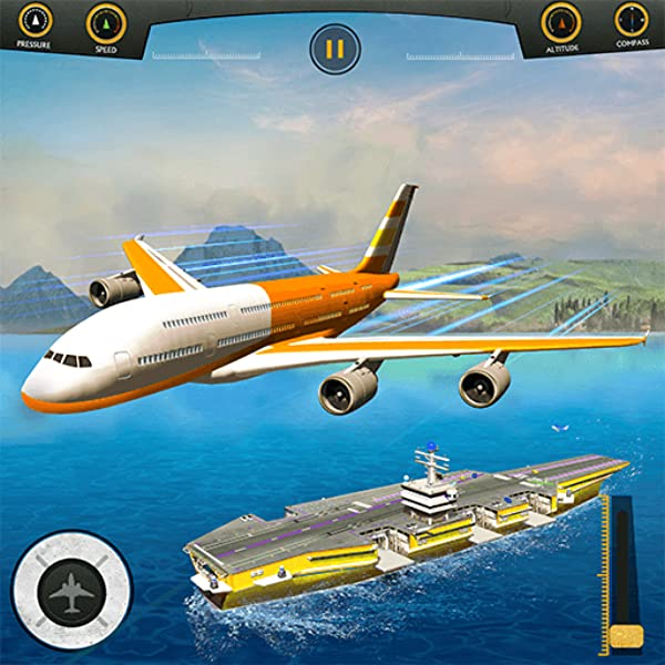 Amazon Com Flight Pilot Plane Landing Flight Simulator Game Appstore For Android