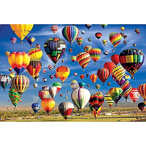 Colorluxe 2000 Piece Puzzle - Hot Air Balloon Mass Ascension -