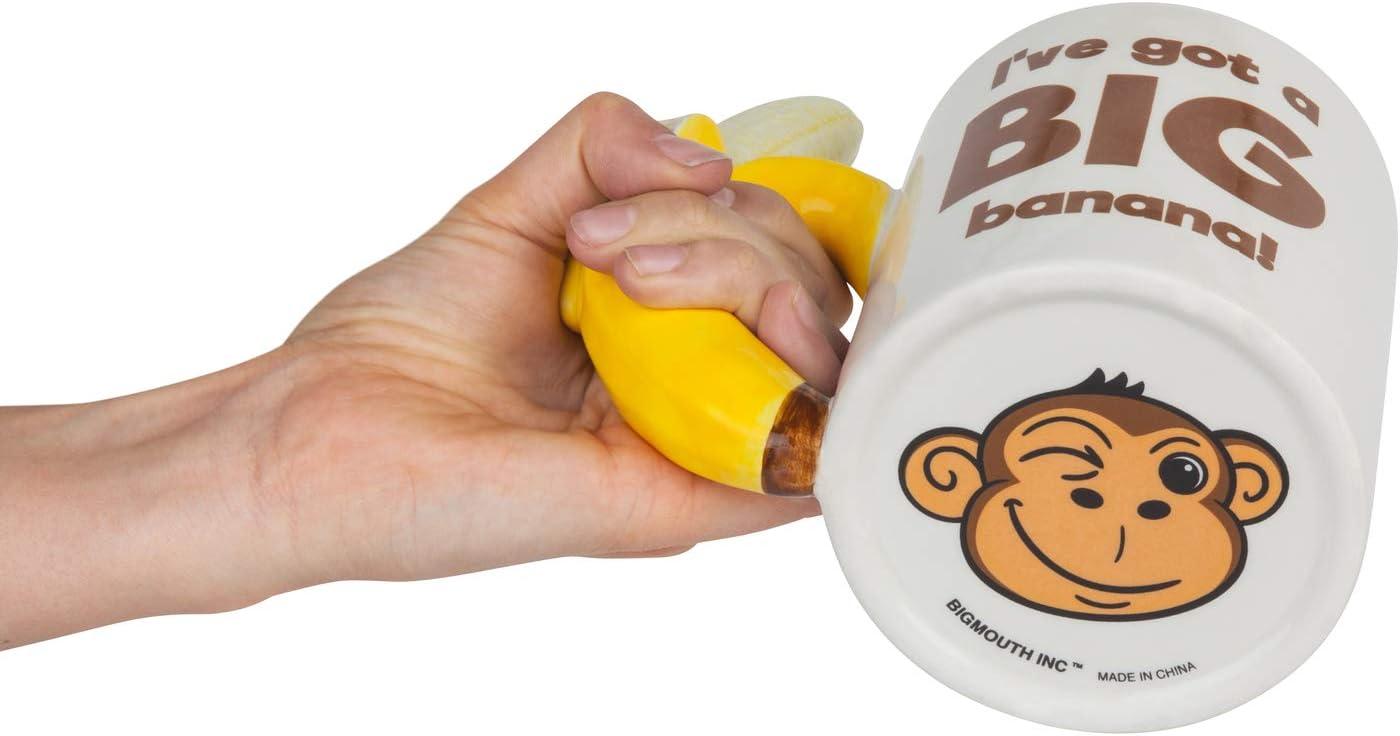 BigMouth Inc Tasse /à caf/é The Big Banana