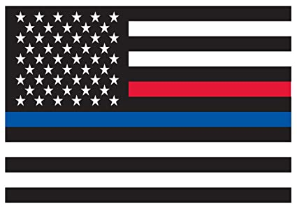 Amazon.com   Rothco Thin Blue Line   Thin Red Line Flag Decal ... d1c62656fb4