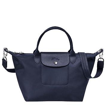 a06be314cc Amazon.com   Longchamp Small Handbag - Le Pliage Neo - New Navy - Versatile  Handbag   Beauty
