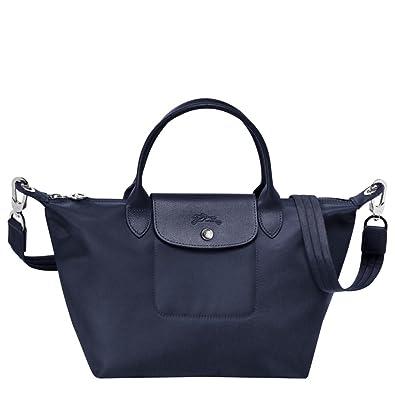 32a6b317d00f1 Longchamp Le Pliage Neo Small Handbag (Navy)  Amazon.co.uk  Shoes   Bags