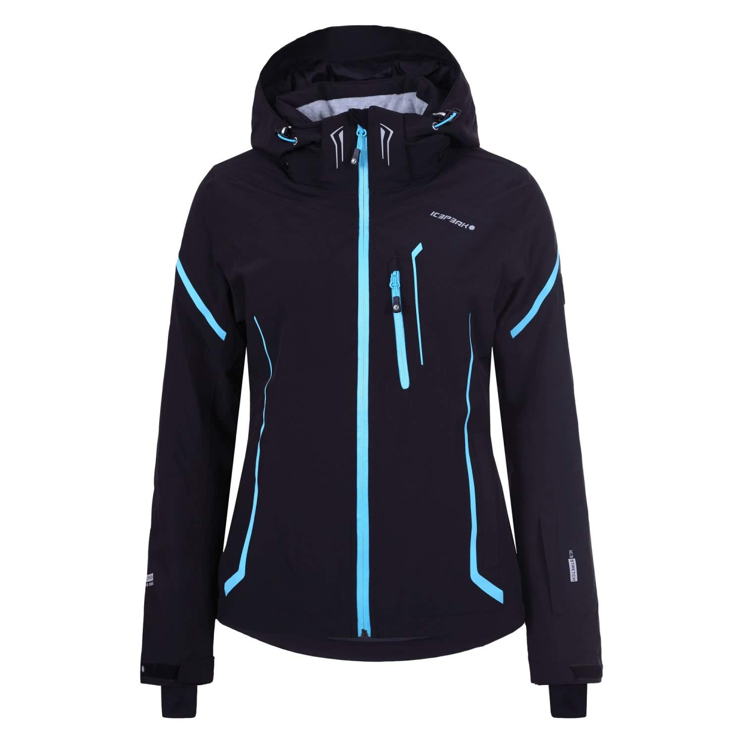 Icepeak Damen Skijacke Nickan 53113 Black 42