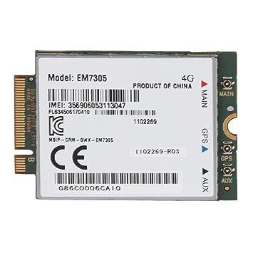 Tarjeta de Red de Interfaz inalámbrica EM7305 4G LTE NGFF ...