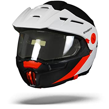 Schuberth E1 Gravity Orange Adventure - Casco de moto