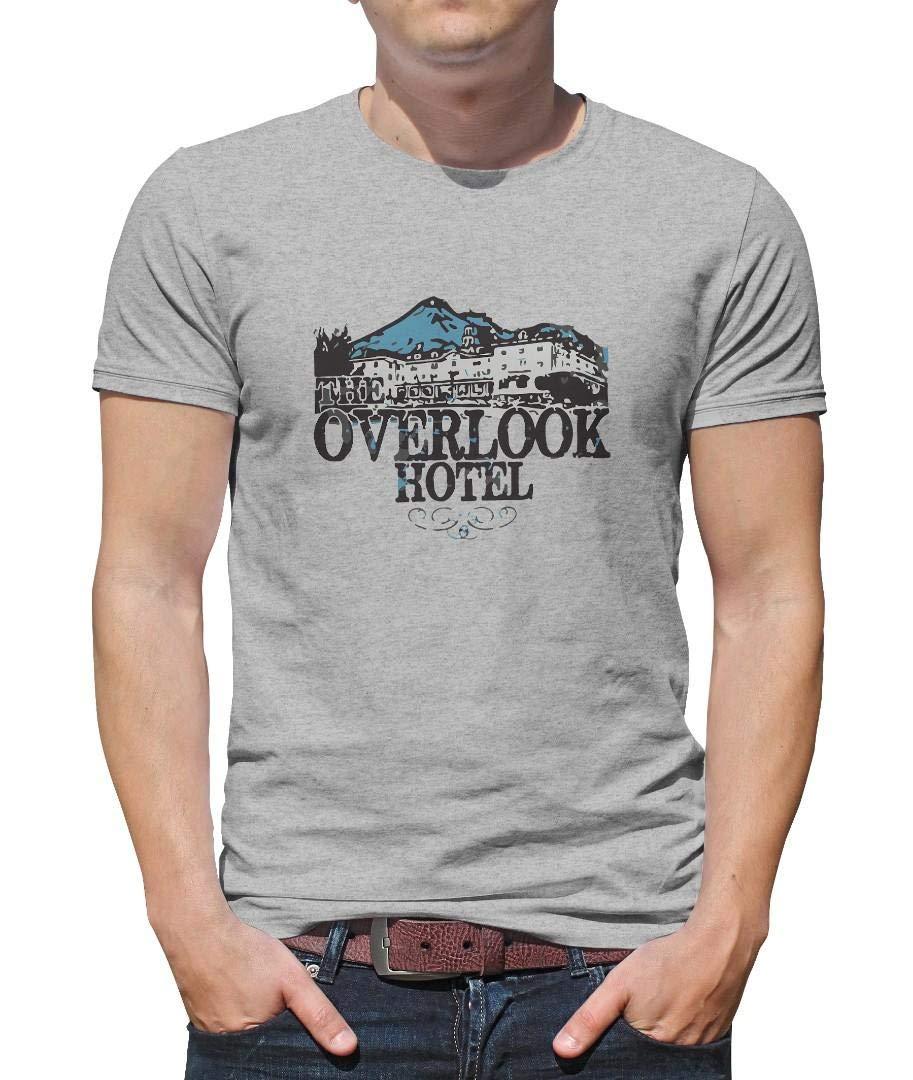 Scrub Green The Overlook Hotel Printing Short Sleeve 6382 Shirts