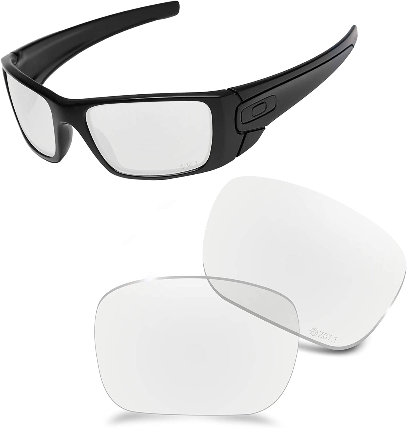 AOZAN New arrival ANSI Z87.1 Replacement Lenses Fuel with Compatible Oakley Superior