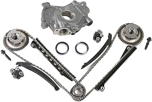 MOCA Timing Chain Kit /& Oil Pump /& Water Pump Kit /& Valve Cover Gasket for Ford 2006 Lincoln Mark LT /& 2005 2006 Expedition /& F-250 F-350 Super Duty /& Lincoln Navigator 5.4L V8