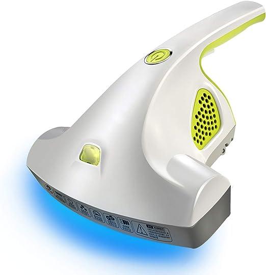 HRRH Aspirador Colector De Ácaros Cama, Removedor De Ácaros De Polvo UV Diseño Handheld De Gran Alcance para El Sofá De Casa Cama Colchón Anti Polvo Ácaros Aspiradora: Amazon.es: Hogar
