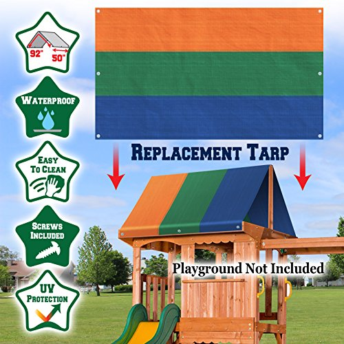 Buy playsets for small yards