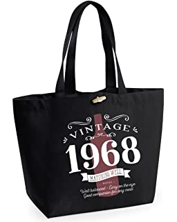 50th Birthday 1968 Keepsake Vintage Wine Funny Gift Gifts For Women