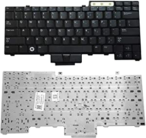 Dserw Notebook Keyboard, Compatible with Dell Latitude E6400 E6500 E6410 E6510 M4500 0UK717 UK717, Keyboard Replacement (Without Pointing)