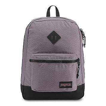 JanSport Super FX Backpack - Grey Optical Zig Zag