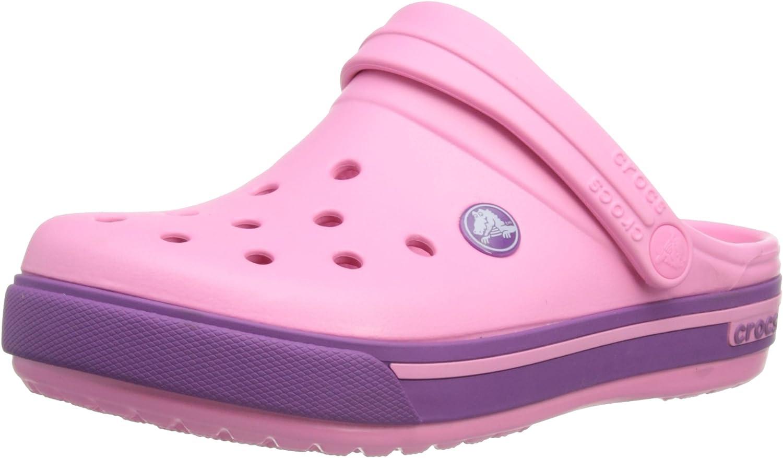 New Crocs Crocband Clogs Shoes Kids Boys Girls SZ 8//9 1 2 3 Citrus /& Sea