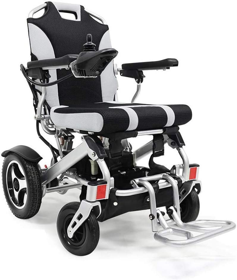 電動車椅子、11Ahリチウム電池缶のサポート135KGポータブル折り畳み式の軽量インテリジェントな自動電動車椅子