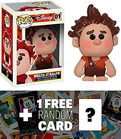Buy Wreck It Ralph Funko Pop X Disney Wreck It Ralph Vinyl Figure 1 Free Classic Disney Trading Card Bundle 29269 Online At Low Prices In India Amazon In