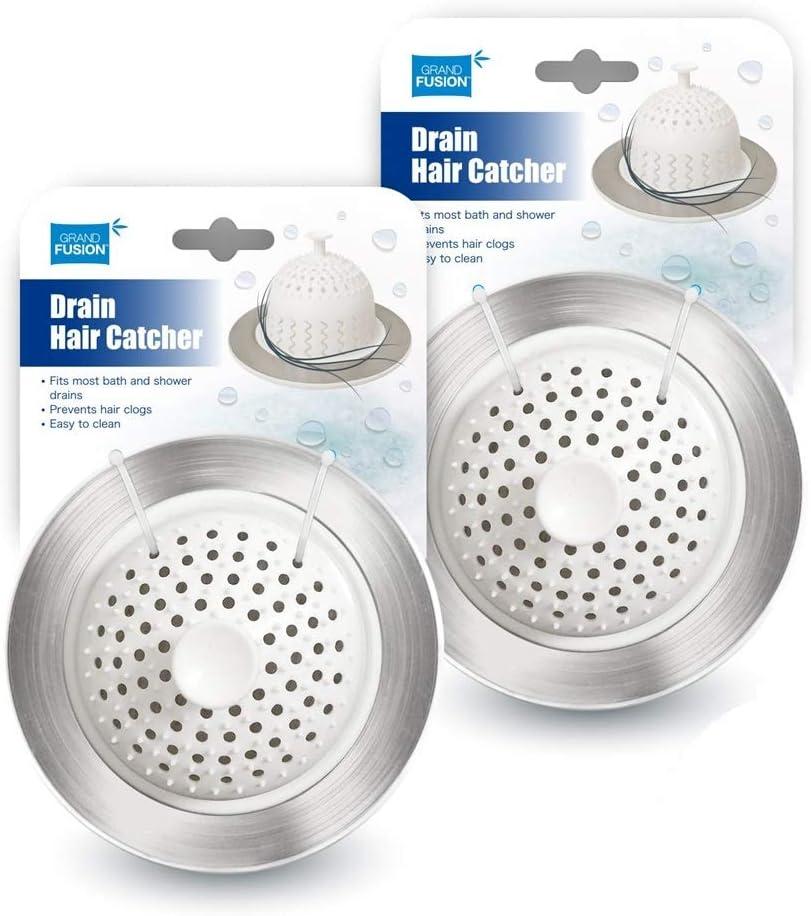 Bathroom Drain Hair Catcher for Tubs or Shower Drains