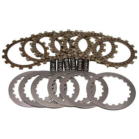KingFurt Complete Clutch Kit Friction Steel Plates Springs for Yamaha Blaster 200 YFS200 1988-2006