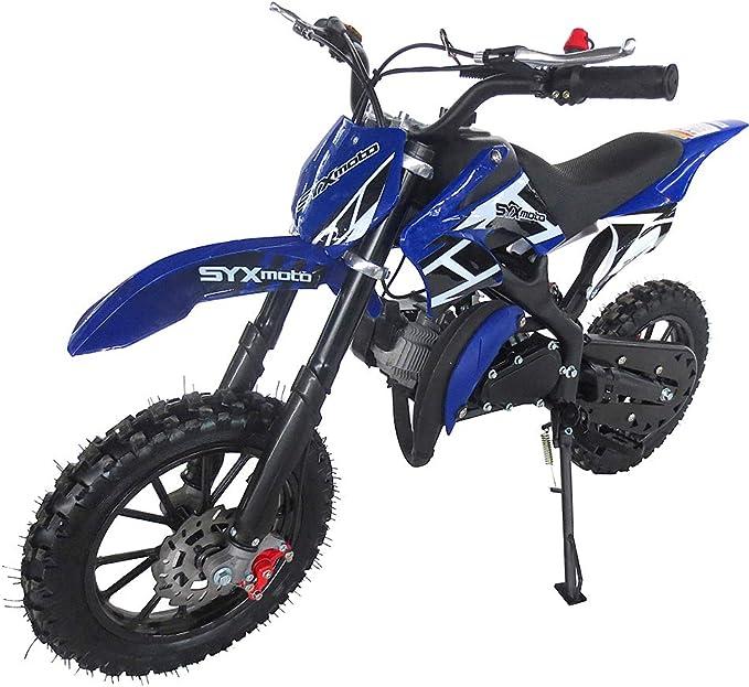 Amazon.com: SYX MOTO Kids Mini Dirt Bike Gas Power 2-Stroke ...