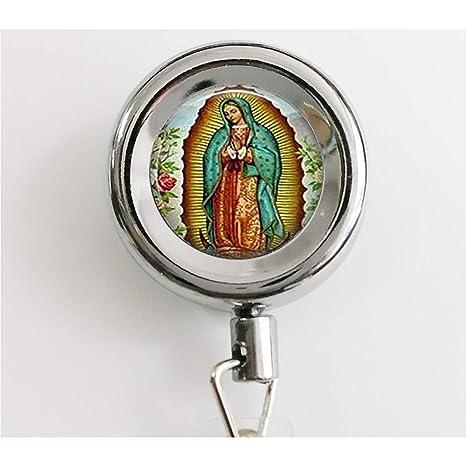 Nuestra Señora de Guadalupe llavero cadena, Virgen María ...