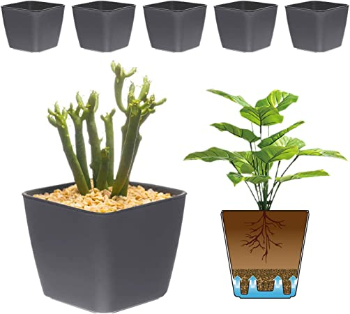 T4U self watering plastic pot product image