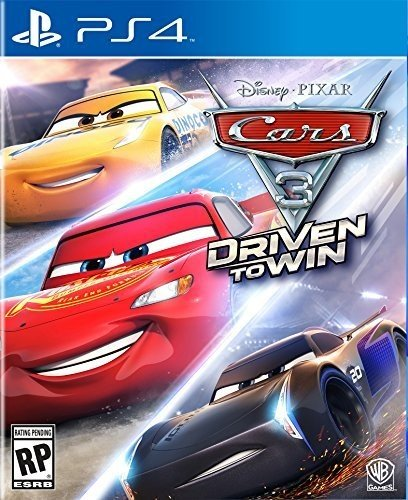 Cars 3: Driven to Win - PlayStation 4 (Cars Game)