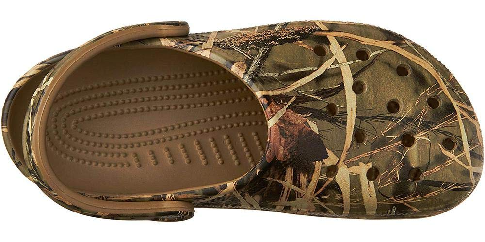 Crocs Men's and Women's Classic Realtree Clog  | Comfort Slip On Camo Casual Shoe | Lightweight