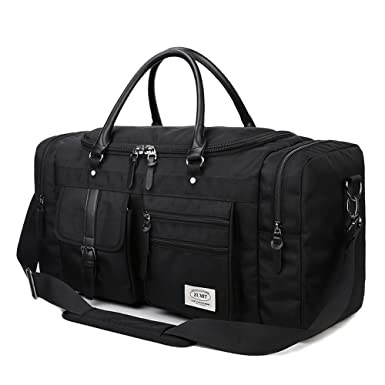 795ae812ff ZUMIT 45L Travel Duffel Bag Mens Womens Large Foldabling Luggage  Water-Resistant Super Lightweight Shoulder