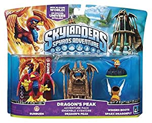 Skylanders Spyro's Adventure: Adventure Pack - Dragon's Peak Adventure Pack (Wii/PS3/Xbox 360/PC) [Importación inglesa]