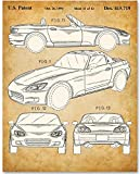 Guild Product - Honda S2000 - 11x14 Unframed Patent Print - Great Gift for Honda Fans and Car Enthusiasts