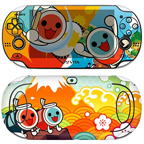 skin-decal-sticker-for-ps-vita-1000-series-pop-skin-taiko-no-tatsujin-01-screen-protector-offer-wall