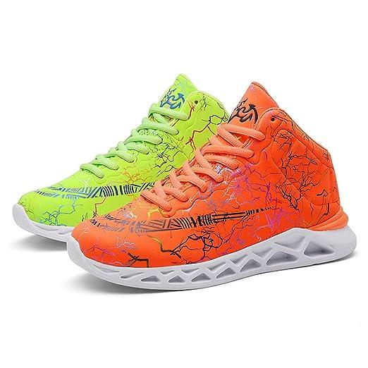 Zapatos de baloncesto de los niños, Niños alta tapa tenis zapatos ...